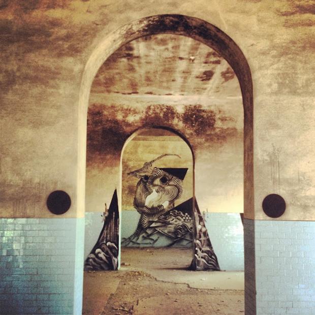 2501 x James Kalinda x Centina - Mural in Toscana