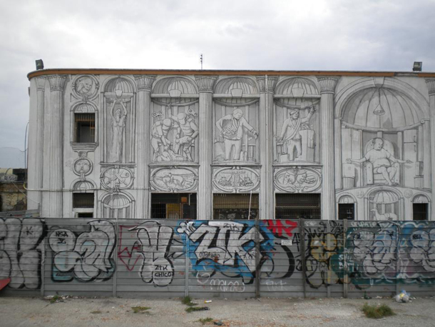 BLU - New Mural at Acrobax in Rome