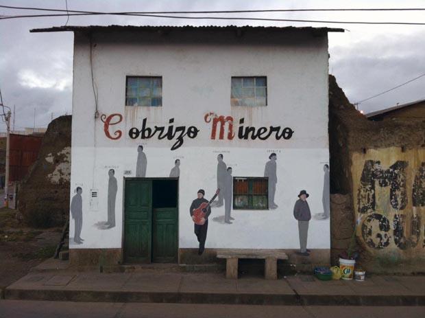 Escif - Cobrizo Minero in Cerro de Pasco Perù