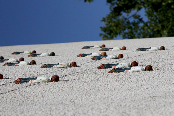 Isaac Cordal - New Pieces in Zagreb
