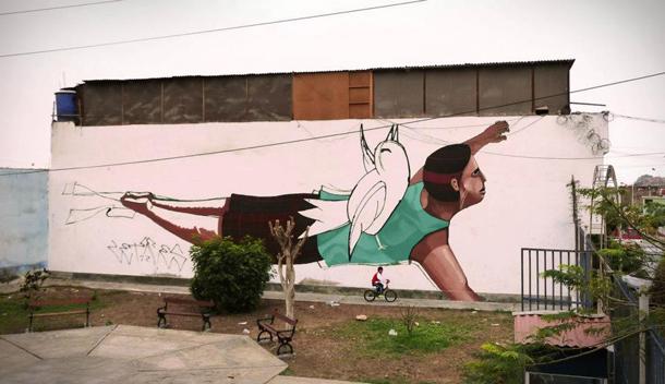 JADE - New Mural in San Patricio Preview