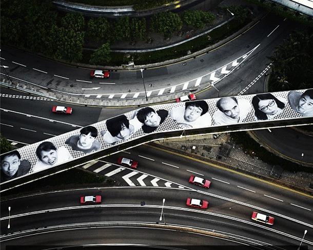 JR - New Installation in Hong Kong