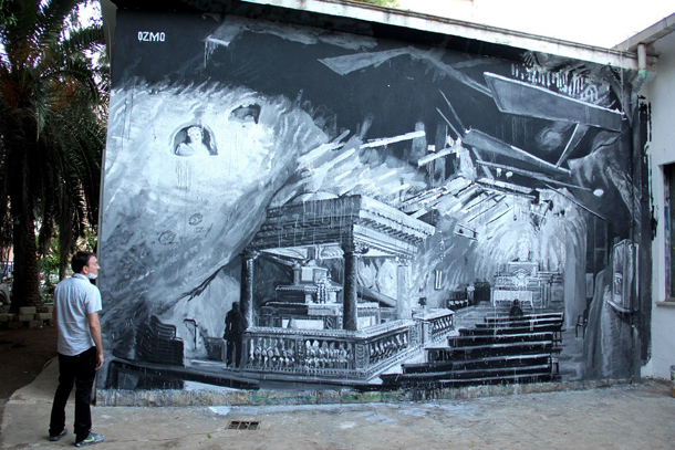 Ozmo - New Mural in Palermo