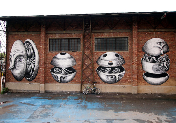 Phlegm - New Mural for Bunker Project