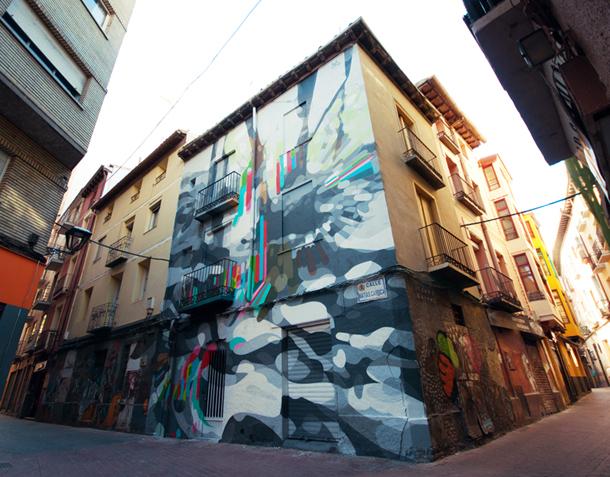 SAT ONE - New Mural at Festival Asalto