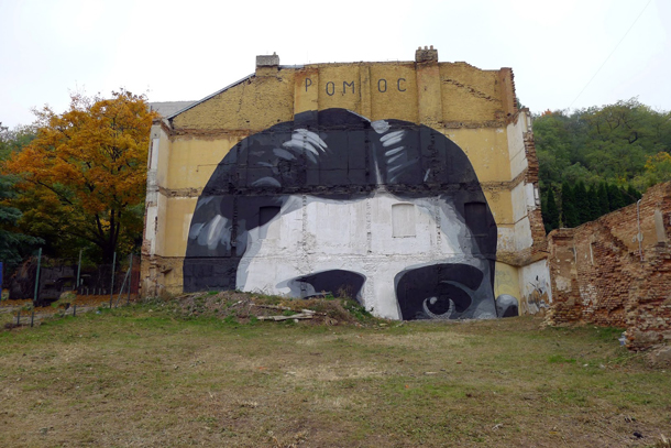 Escif - New Mural in Czech Republic