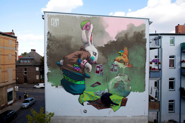 Etam Cru - New Mural for All You Can Paint Festival
