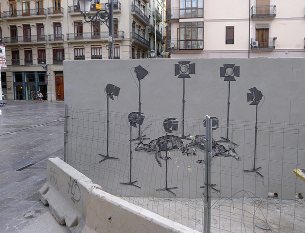 Hyuro - New Wall in Valencia