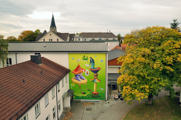 Interesni Kazki - New Mural in Germany