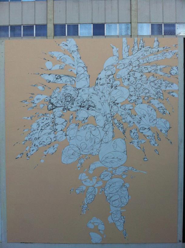 La Pandilla - New Mural at Los Muros Hablan Festival