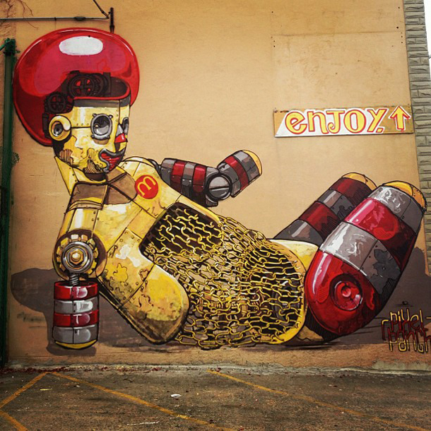 Pixel Pancho – New Mural for Baltimore Articulate Part II