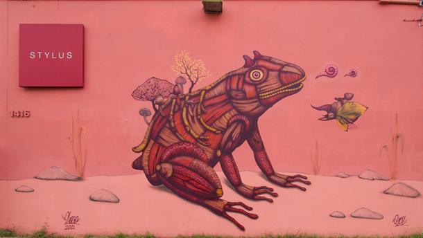 Sego – New Mural at Los Muros Hablan Festival