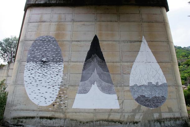 Tellas x Ciredz x Crisa - New Mural in Sardinia
