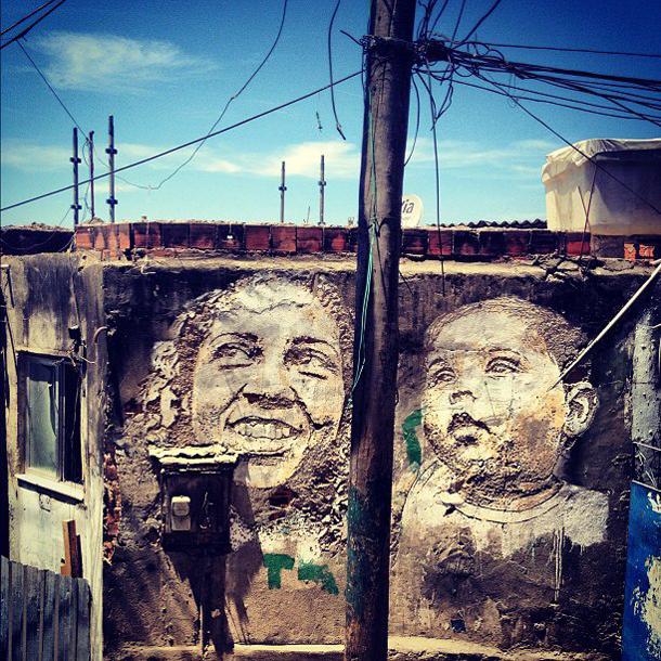 Vhils – New Mural in Rio de Janeiro Part II