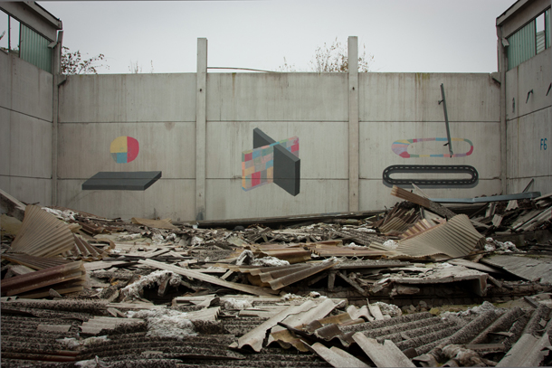 Alberonero x Ciredz - New Pieces in Abandoned Factory near Ferrara