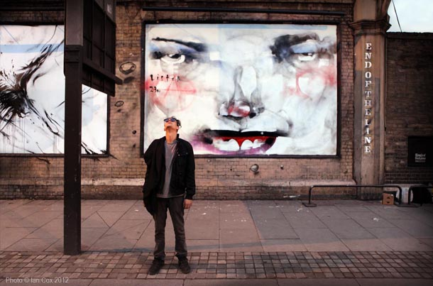 Anthony Lister - New Murals in London