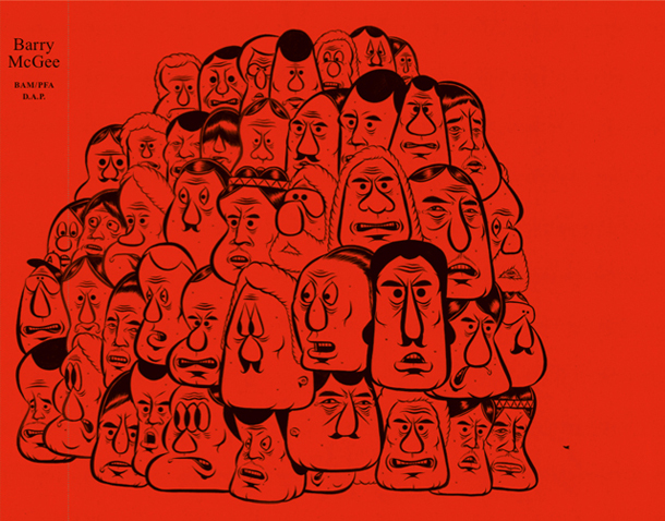 Barry McGee Retrospective Book by BAM/PFA