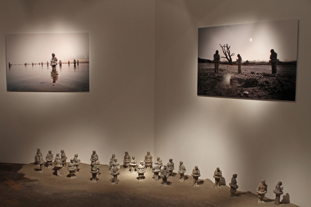 "Isaac Cordal - ""Prestige"" Exhibition at Harlan Levey Project 