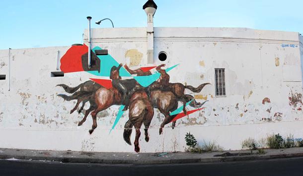 JAZ x Elian - New Mural in Cordoba, Argentina