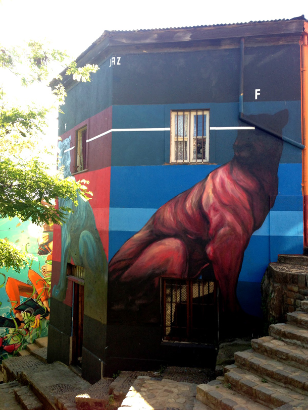JAZ - New Mural at Polanco Graffestival
