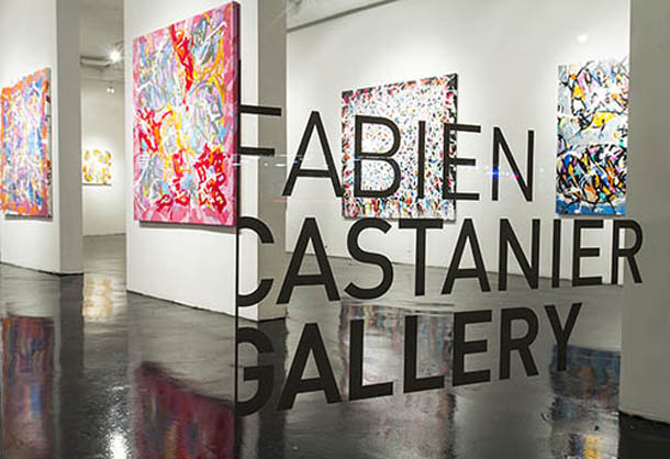 "JonOne - ""A Beautiful Madness"" Exhibition at Fabien Castanier Gallery 