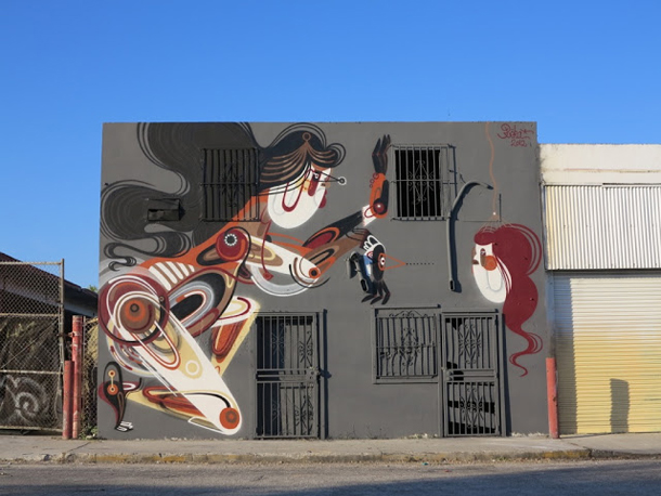 Reka – New Mural at Wynwood Miami for Art Basel 2012 Part II