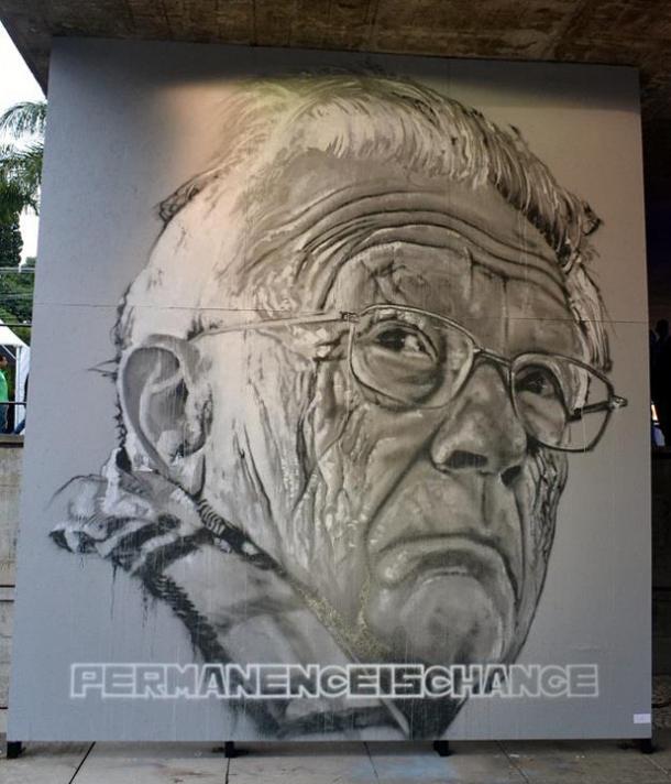 Hendrik Beikirch - New Mural at  2º Bienal Graffiti Fine Art in Sao Paulo