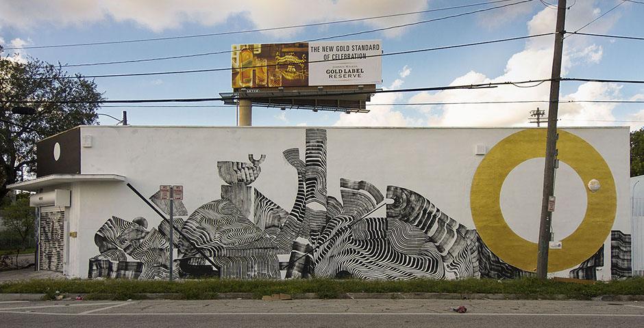 2501 – New Mural in Wynwood, Miami