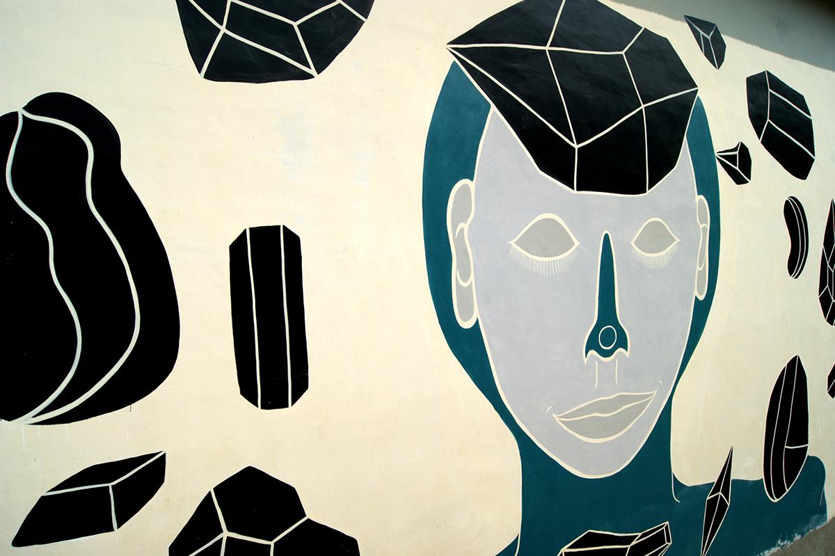 Andreco Rocce New Mural In Chiusa Di Pesio Gorgo