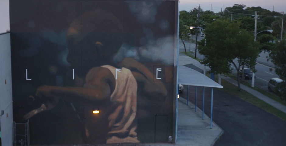 Axel Void – New Mural for R.A.W. PROJECT in Wynwood