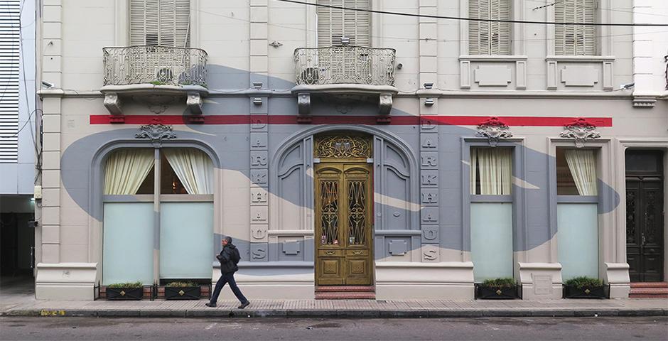"""Elian – """"Organic Focus"""" New Mural in Rosario"""