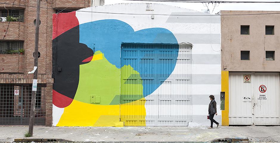 Elian – New Mural for OFICIO Residence