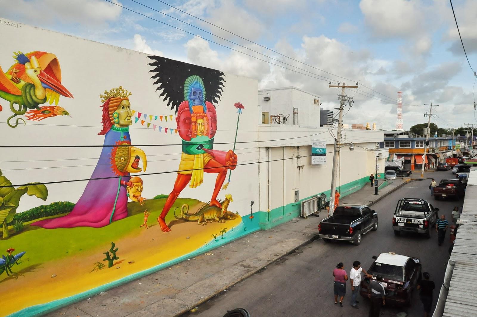 interesni-kazki-new-mural-campeche-mexico-23