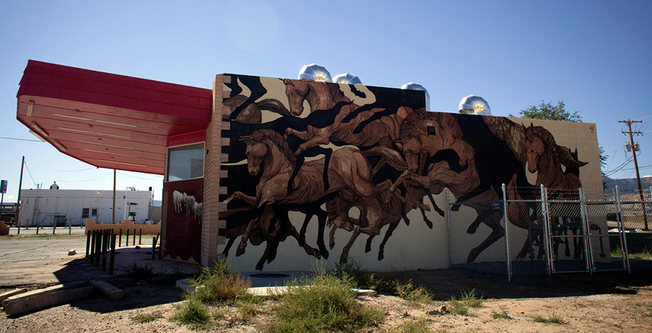 JAZ for The Painted Desert Project in Arizona