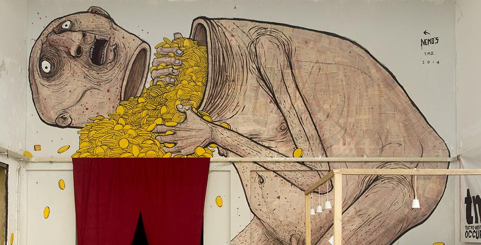 Nemo's – New Mural at Teatro Mediterraneo Occupato