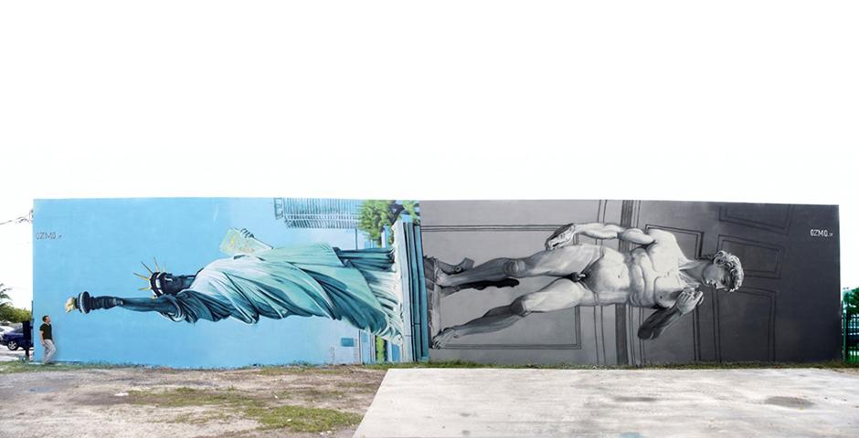 Ozmo – New Mural in Wynwood, Miami