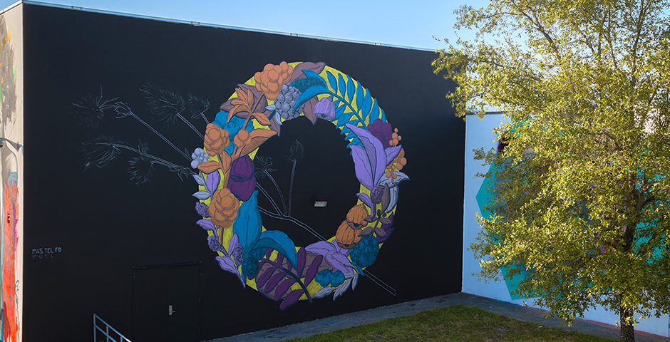 Pastel x JUFE – for R.A.W. PROJECT in Wynwood