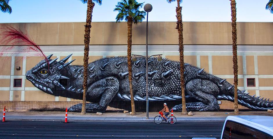 ROA – New Mural in Las Vegas