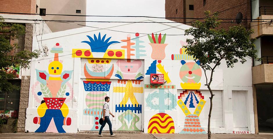 ZOSEN – New Mural for OFICIO Residence