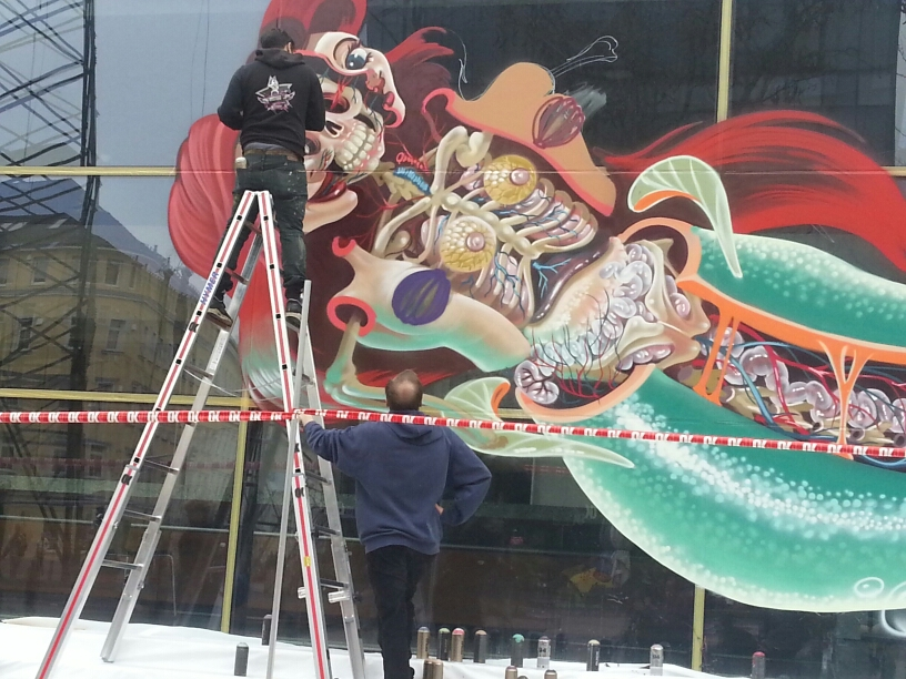 nychos-dissection-of-the-little-mermaid-new-mural-in-linz-04