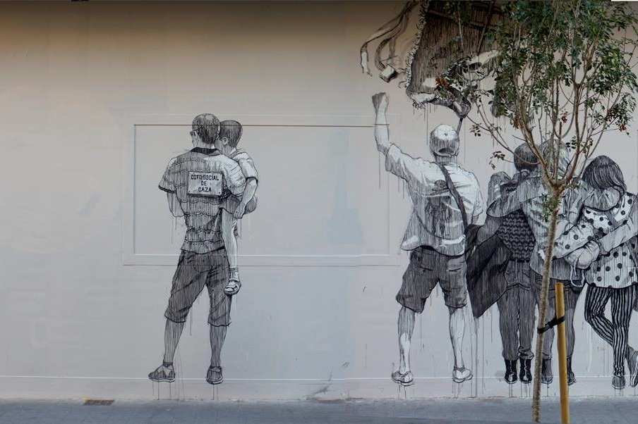 Daniel Muñoz SAN – New Mural in Valencia, Spain