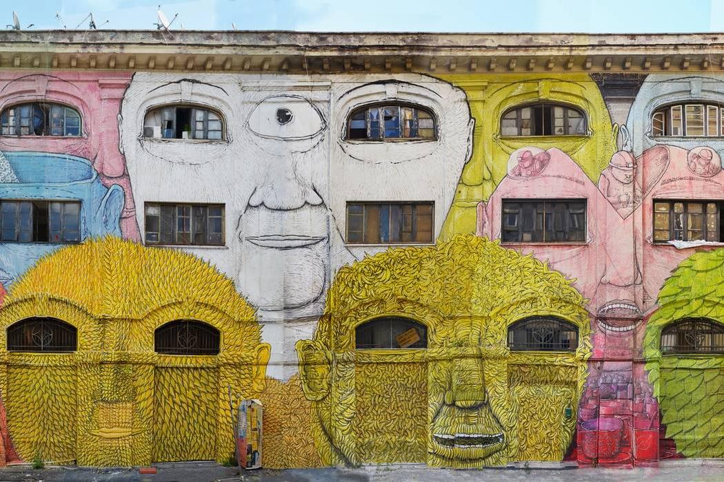 BLU – New Stunning Mural in Rome