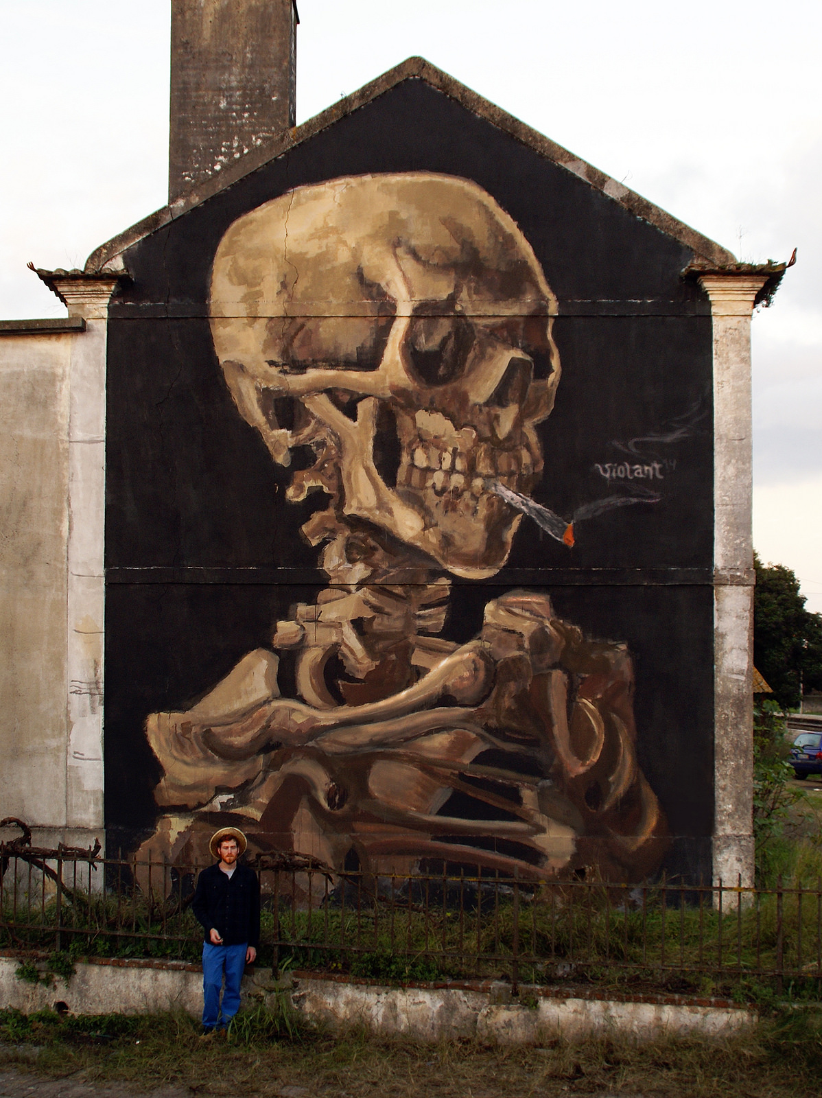 violant-skull-with-a-burning-joint-new-mural-02