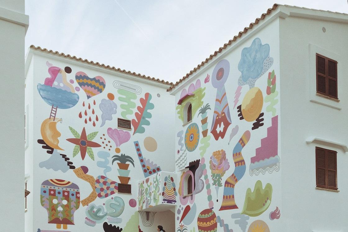 Zosen and Mina Hamada for Betart Festival in Mallorca