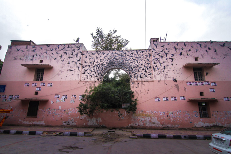 DALeast – New Mural in New Delhi, India