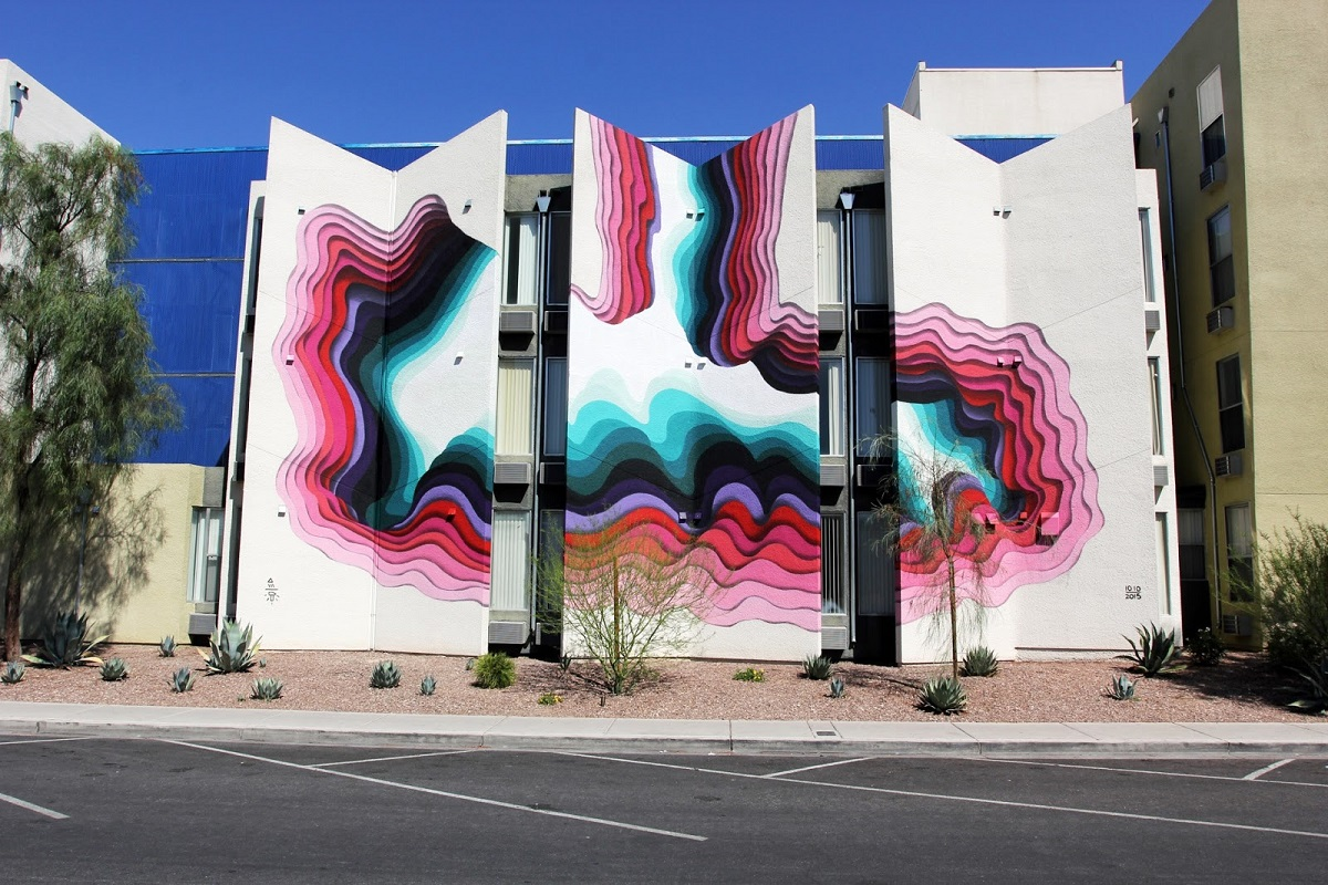 1010 - New Mural for Life Is Beautiful 2015 — Gorgo Magazine