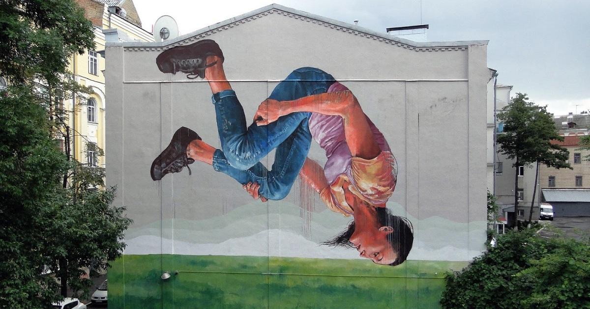 "Fintan Magee - ""The Dreamer"" in Kiev, Ukraine — GORGO"