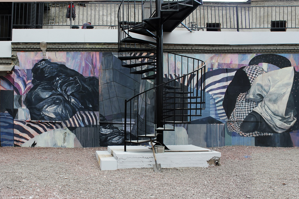 Morik – New Mural in Saint Petersburg, Russia