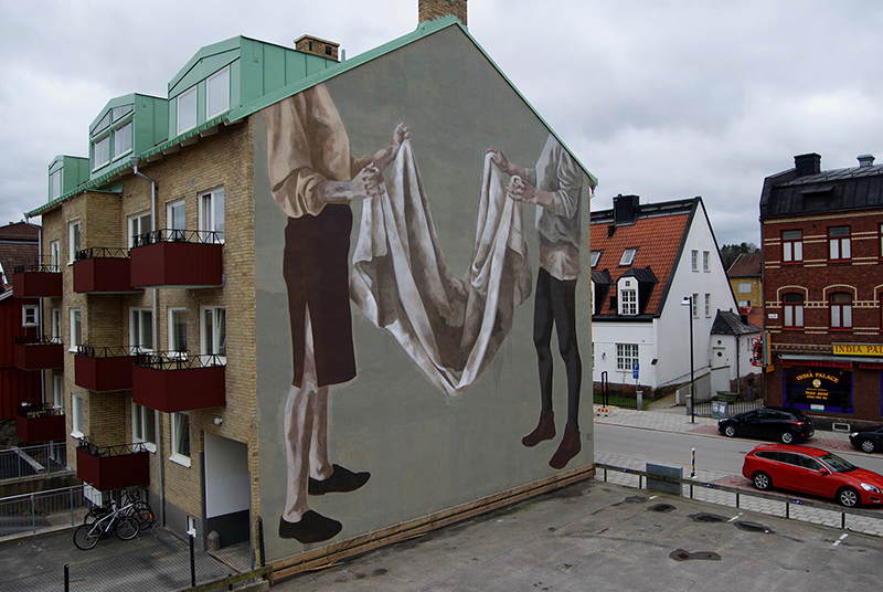 Hyuro – New Mural in Trollhättan, Sweden