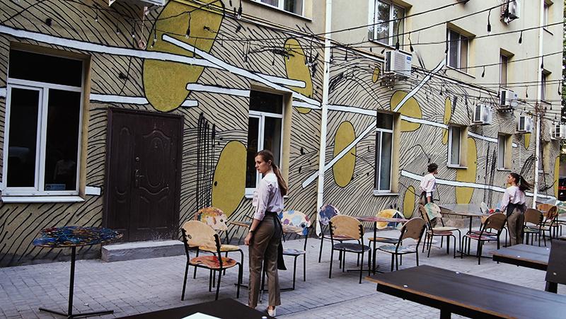 DIMA – A New Mural in Odessa